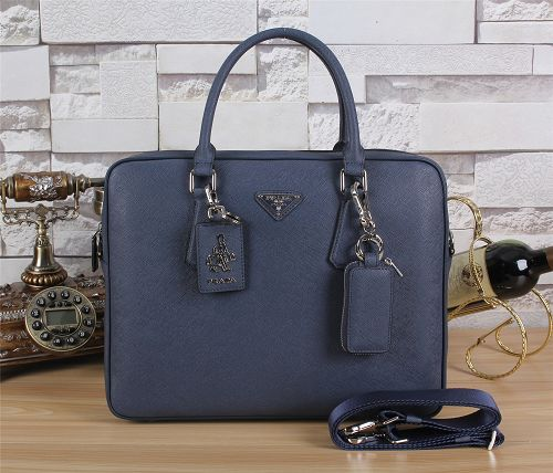 Prada winter best-selling model original leather F003 blue