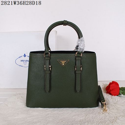 2015 Prada spring and summer new models 2821 dark green