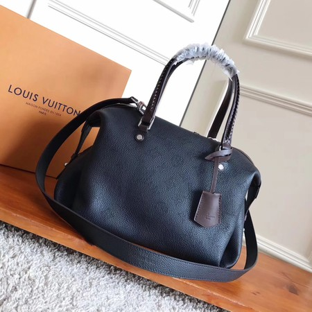 2017 newest Louis Vuitton MAHINA ASTERIA M54672 black