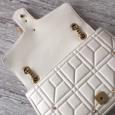 Gucci GG NOW Shoulder Bag 443496 Beige