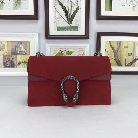 Gucci Dionysus GG Original Shoulder Bag Velvet 400249 red