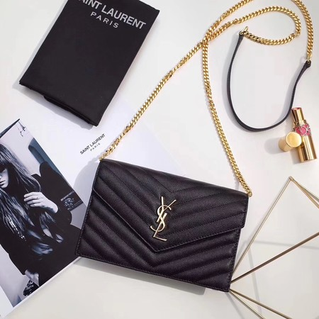 Yves Saint Laurent hot style shoulder bag 393953 black