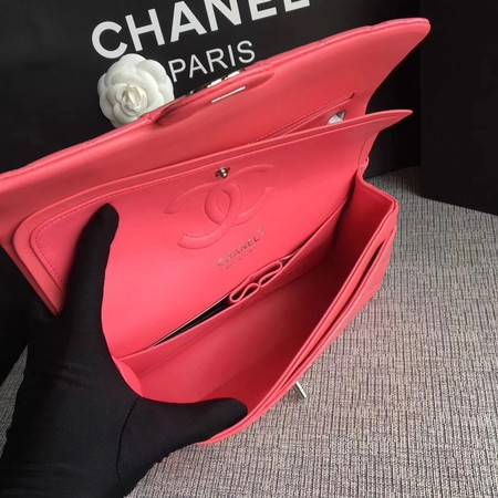 Chanel Classic Flap Bag original Patent Leather 1112 pink