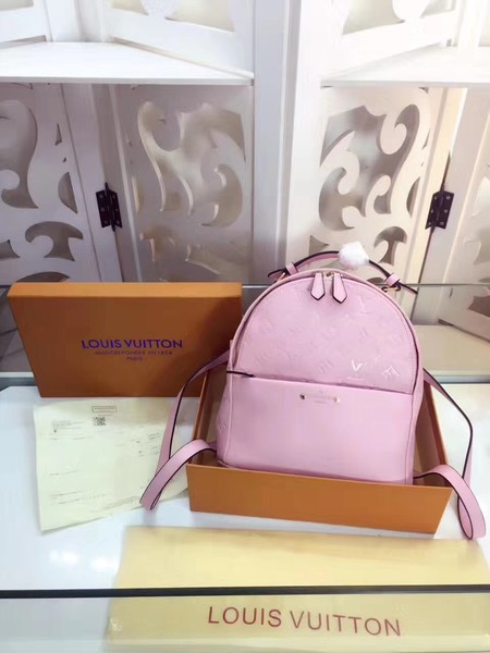 Louis Vuitton Monogram Empreinte Calf Leather Backpack M44019 pink