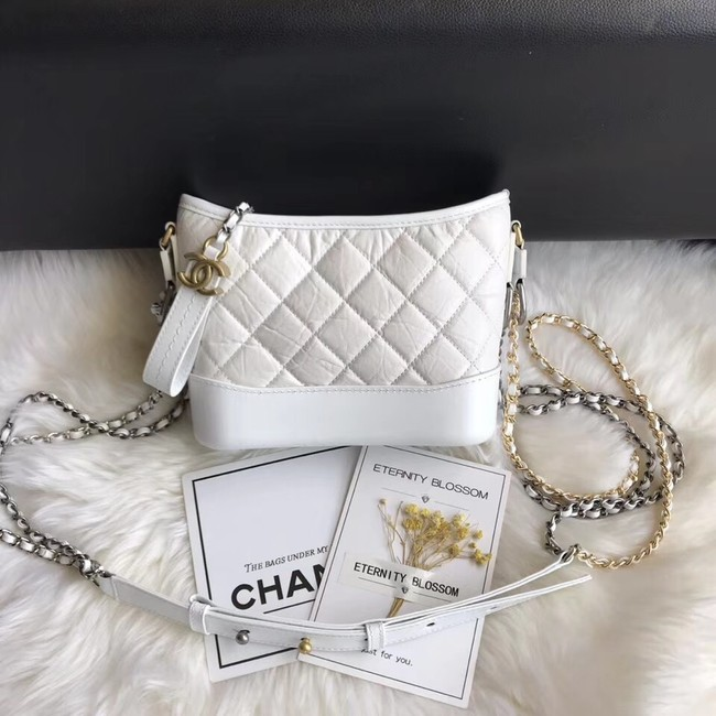 CHANEL GABRIELLE Original Small Hobo Bag A91810 white