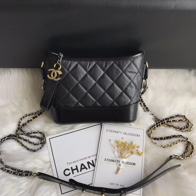 CHANEL GABRIELLE Original Small Hobo Bag A91810 black