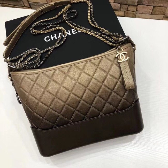 CHANEL GABRIELLE Hobo Bag A93824 yellow