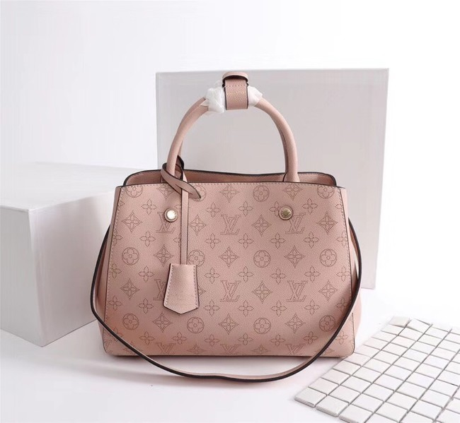 Louis Vuitton Mahina Leather 41046 pink
