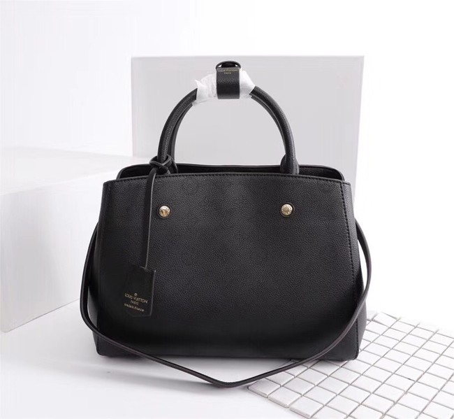 Louis Vuitton Mahina Leather 41046 black