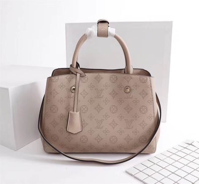 Louis Vuitton Mahina Leather 41046 apricot