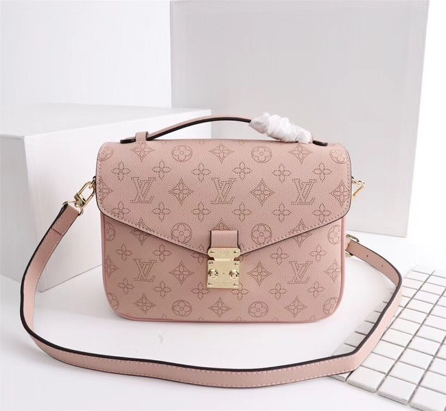 Louis Vuitton Mahina Leather POCHETTE METIS M40780 pink