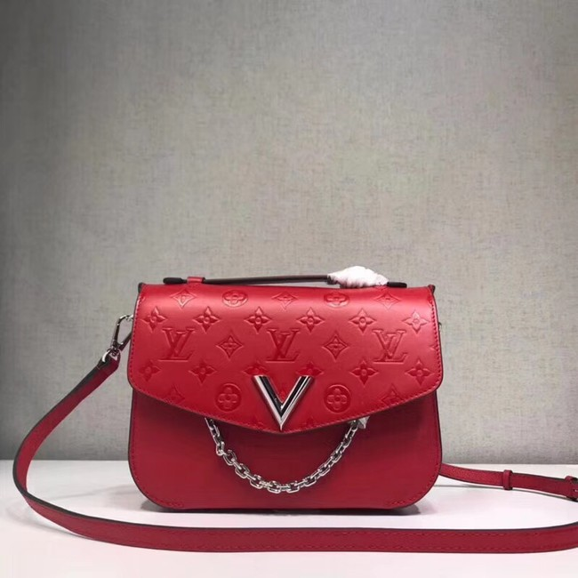 Louis Vuitton original leather M53382 red
