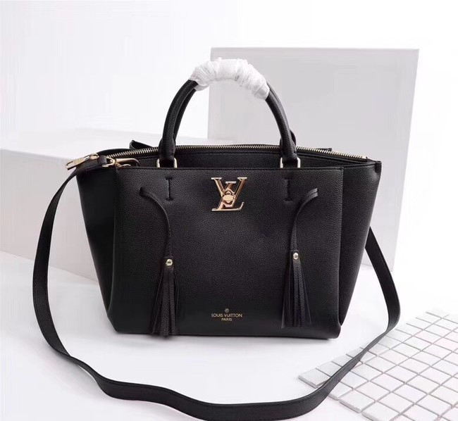 Louis vuitton LOCKMETO M54569 black