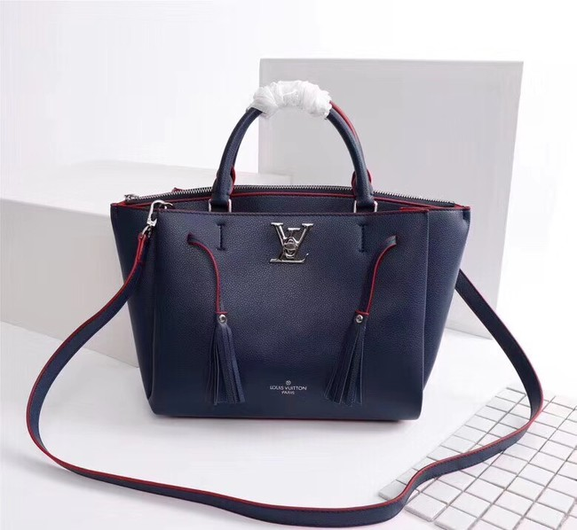 Louis vuitton LOCKMETO M54569 Navy-blue