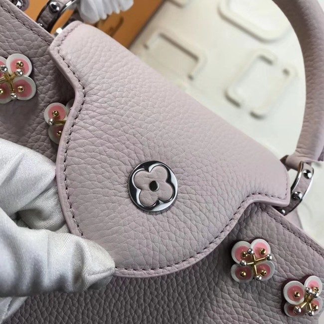 Louis vuitton original CAPUCINES M94519 pink