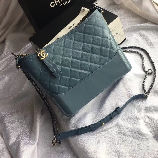 CHANEL GABRIELLE Hobo Bag Original A93824 blue