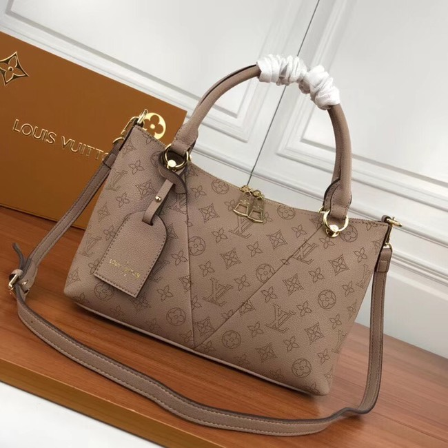 Louis Vuitton Mahina Leather m66817 apricot