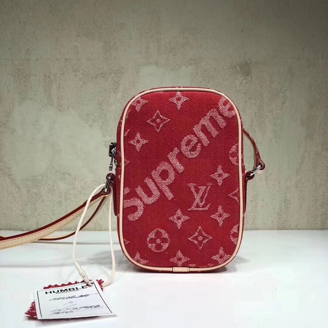 Louis Vuitton Denim M53434 red