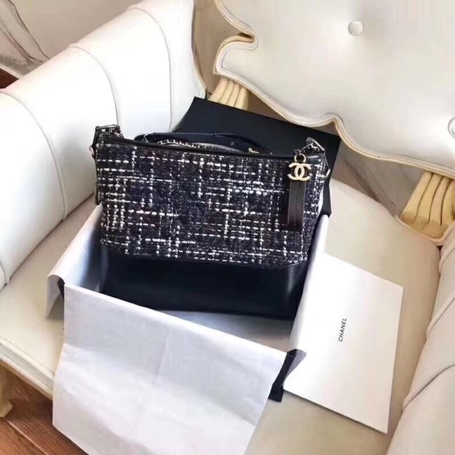 CHANEL GABRIELLE Hobo Bag A91810 black