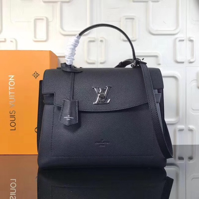 Louis Vuitton original LOCKME EVER M51395 black