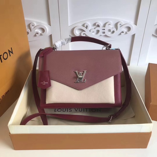 Louis vuitton original MY LOCKME M54849 pink&white