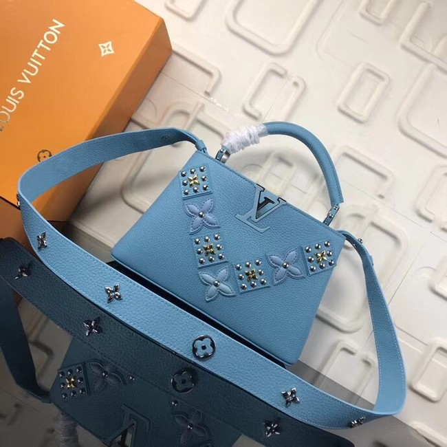 Louis Vuitton CAPUCINES PM M94519 blue
