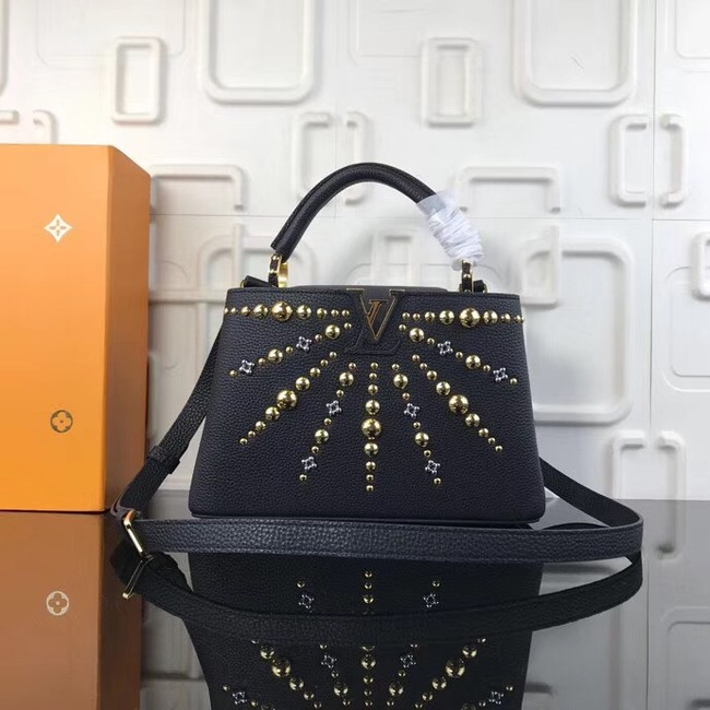 Louis Vuitton CAPUCINES PM M94519 black