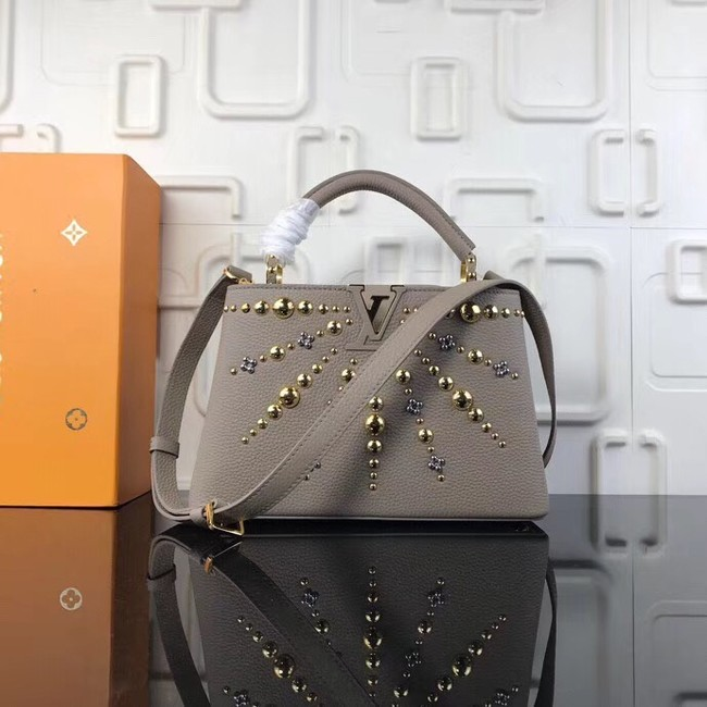 Louis Vuitton CAPUCINES PM M94519 grey