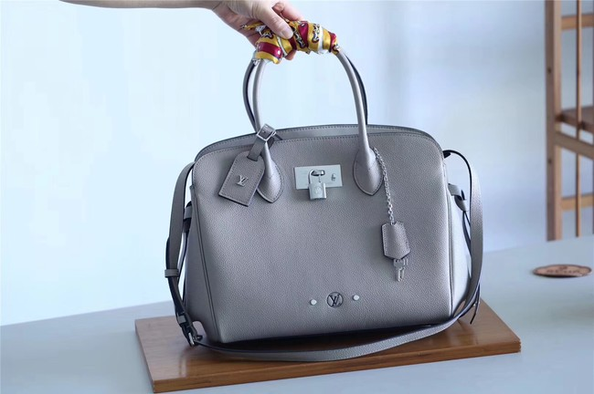 Louis vuitton original calfskin M51445 grey