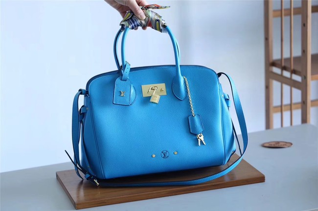 Louis vuitton original calfskin M51445 blue