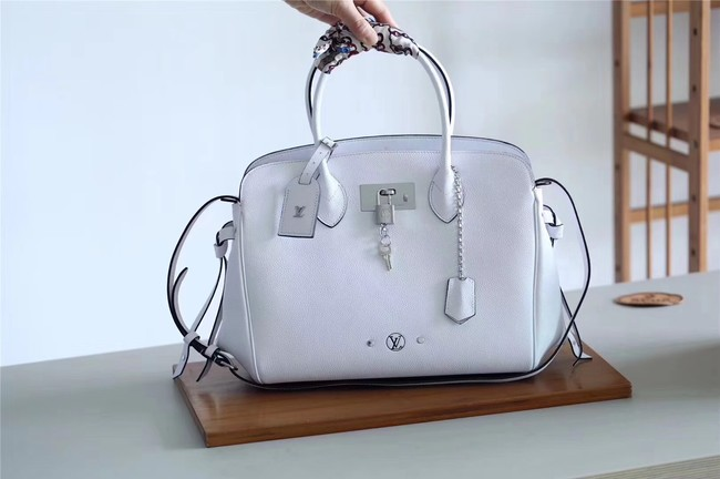 Louis vuitton original calfskin M51445 WHITE