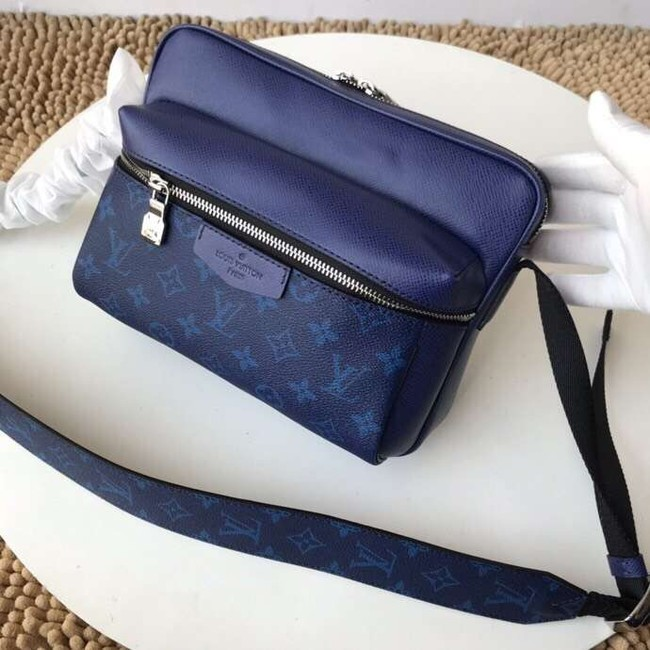 Louis Vuitton Monogram Canvas Messenger PM M43845 blue