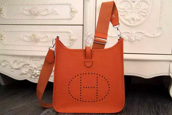 Hermes Evelyne 32cm Messenger Bag H1188 Orange