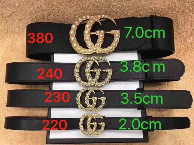 Gucci Belt GB18211 Black