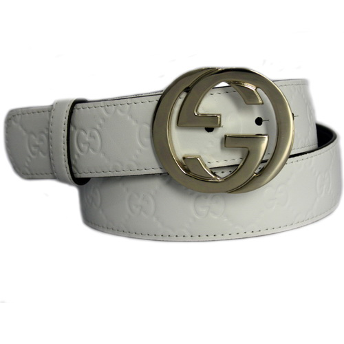 Gucci Belts 114876-4 Pure White