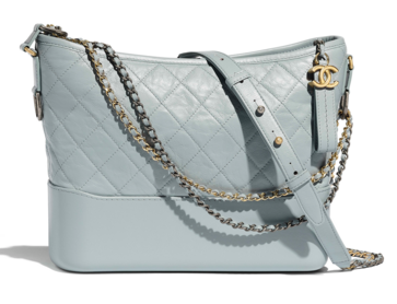 Chanel gabrielle hobo bag A93824 light blue