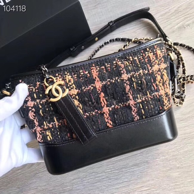 Chanel gabrielle small hobo bag A91810 black