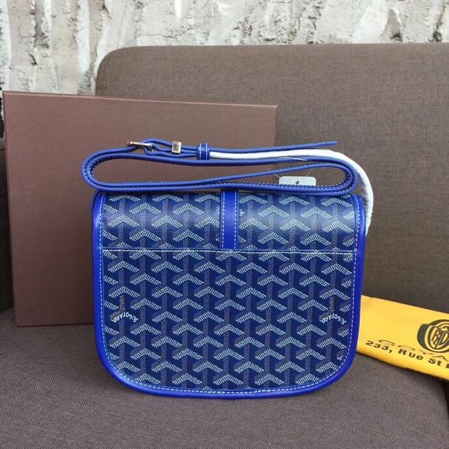 Goyard shoulder bag 36959 electric blue