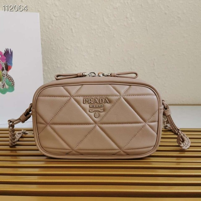 Prada Spectrum shoulder bag 1BH141 apricot