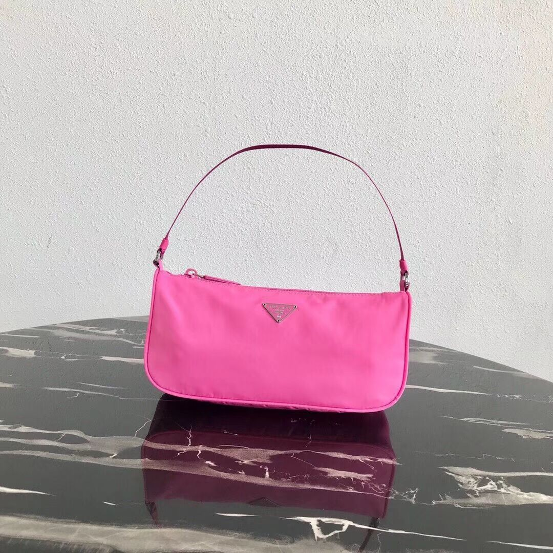 Prada Re-Edition nylon Tote bag 1N1419 rose