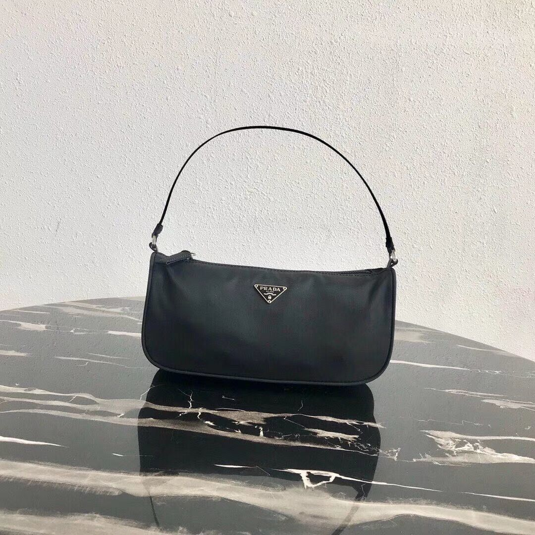 Prada Re-Edition nylon Tote bag 1N1419 black