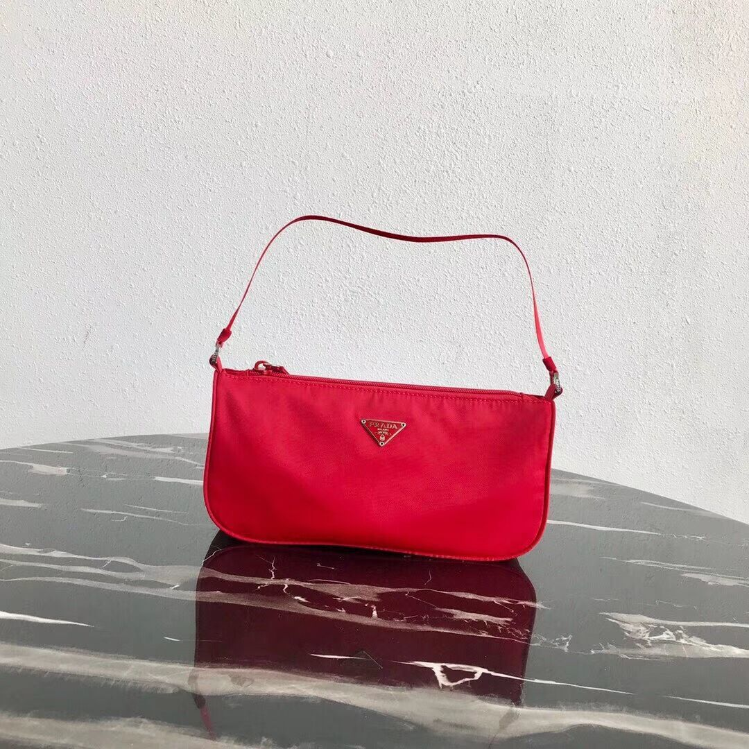 Prada Re-Edition nylon Tote bag 1N1419 red