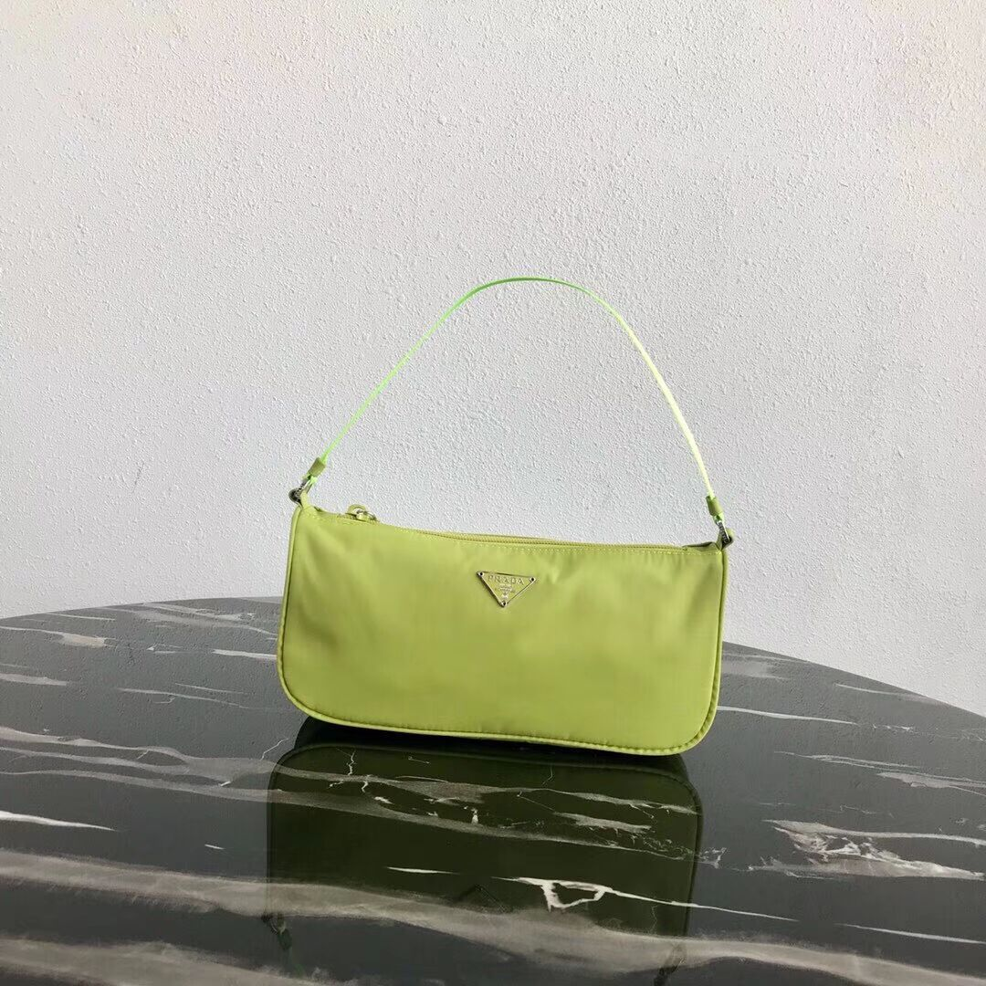 Prada Re-Edition nylon Tote bag 1N1419 green