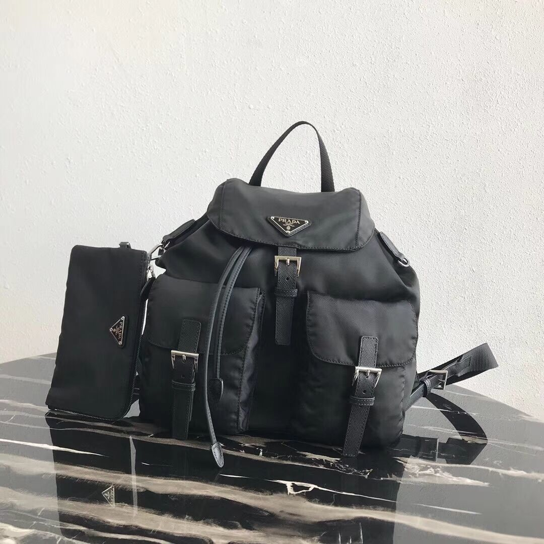 Prada Nylon backpack 1BZ811 black