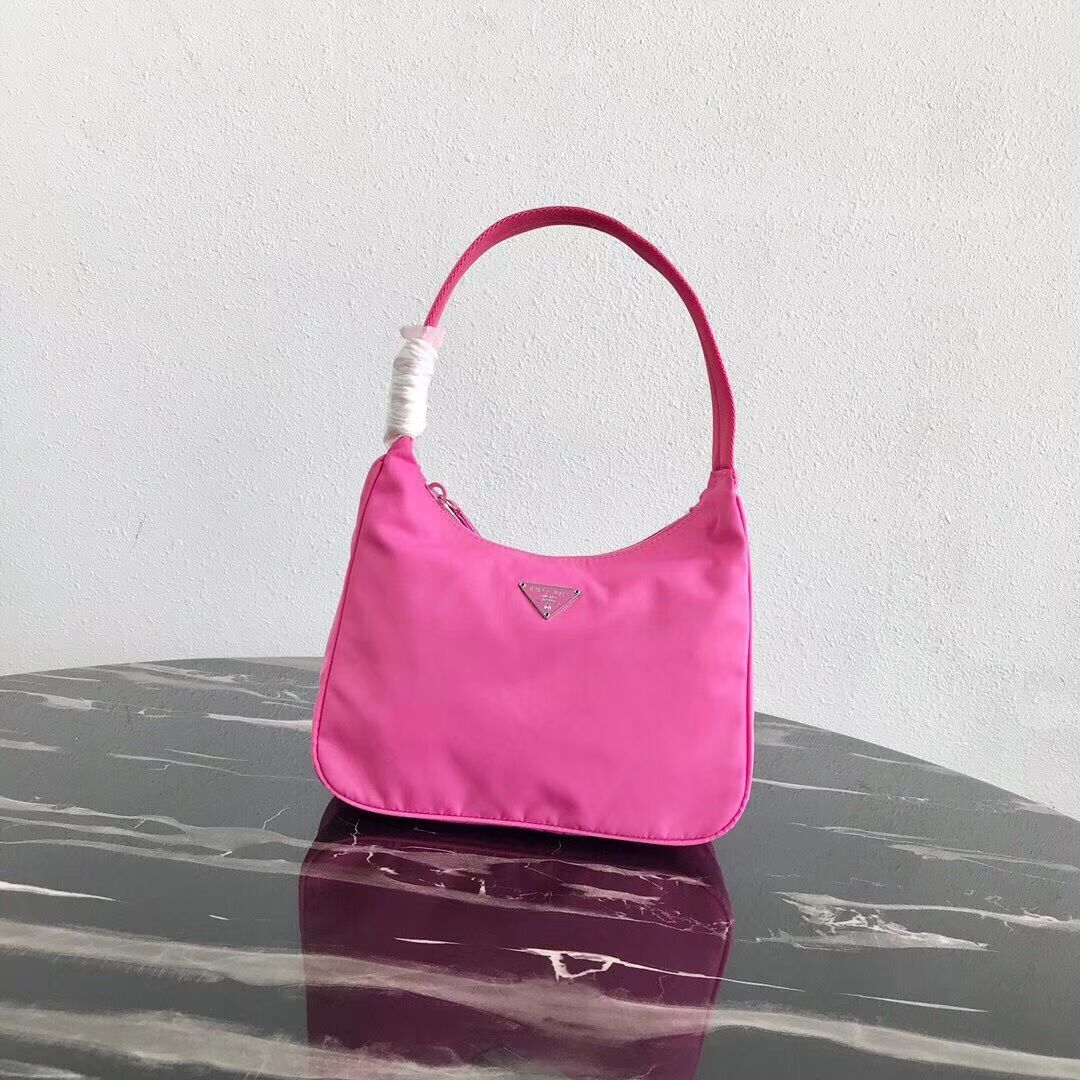 Prada Re-Edition nylon Tote bag MV519 pink