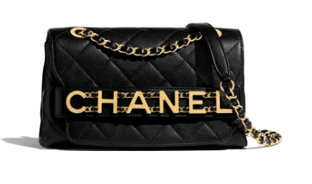 Chanel small Flap Bag Original Sheepskin Leather AS1490 black