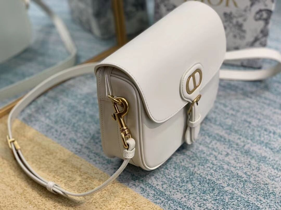 Dior SOFT CALFSKIN BAG  medium C0317 white