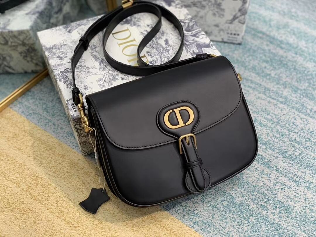 Dior SOFT CALFSKIN BAG medium C0317 black