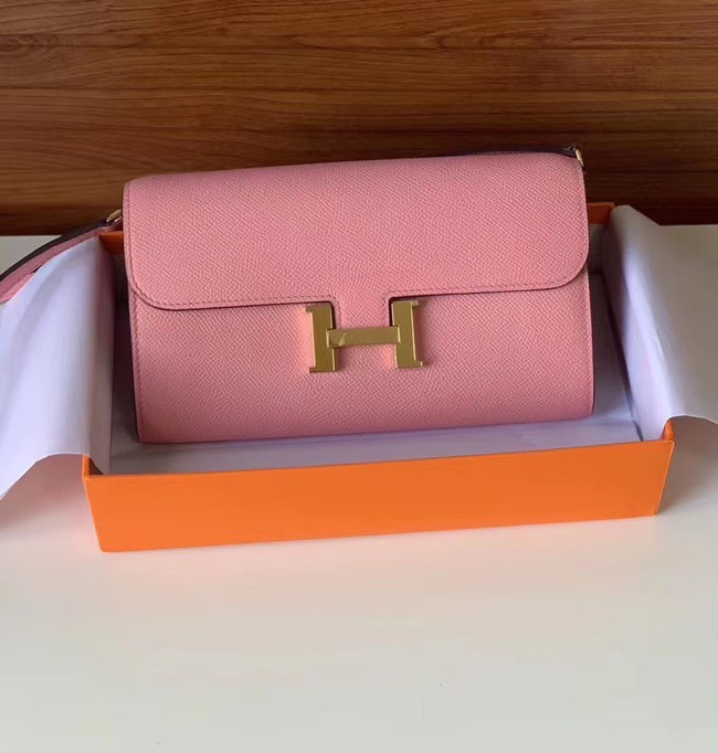 Hermes Constance to go mini Bag H4088 pink