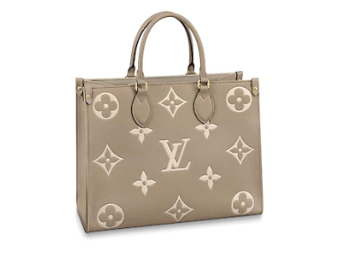 Louis Vuitton Original Onthego medium tote bag M45495 grey